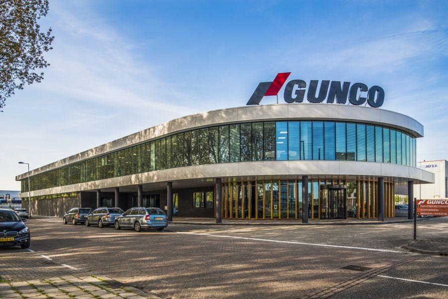 Gunco Rotterdam gevel